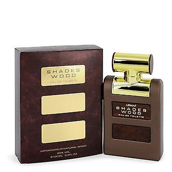 Armaf shades wood eau de toilette spray by armaf   538306 100 ml