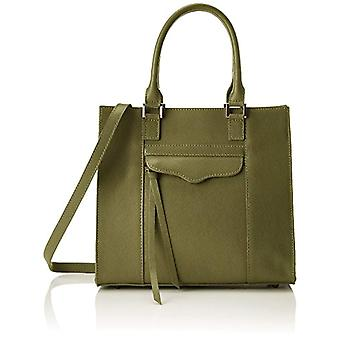 Chicca Bags 8883 Women's shoulder bag (Green) 27x24x17 cm (W x H x L)
