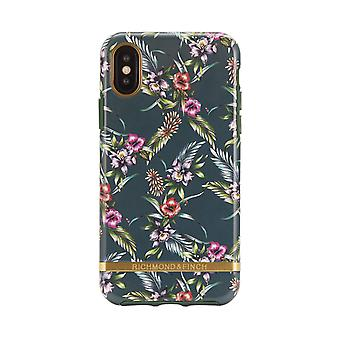 Richmond & Finch shells voor IPhone XS Max-Emerald Blossom