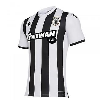 2019-2020 PAOK Salonika Authentic Home Shirt