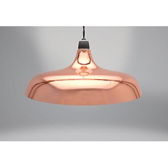 Country Club Metal Light Shade, Coolie Dome Copper