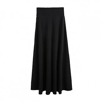 Golvlängd lång kjol Plus storlek