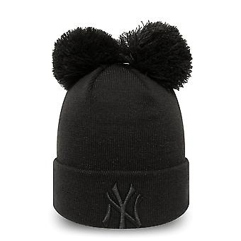 New era women's winter Hat Bobble Beanie - New York Yankees