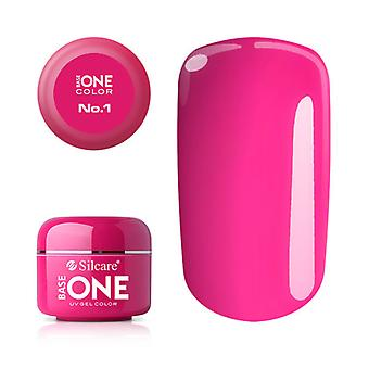 Base one-Color-Pink No. 1 5g UV Gel