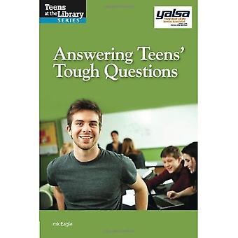 Schwierige Fragen beantworten Teens: Eine Yalsa Anleitung