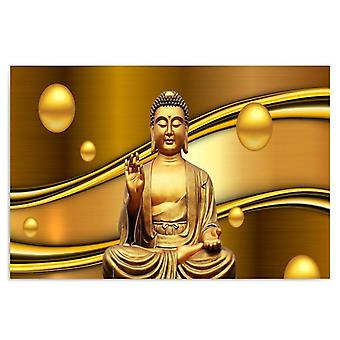 Canvas, Picture on canvas, Golden Buddha
