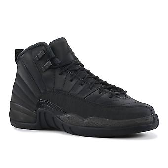Air Jordan 12 Retro Wntr (Gs) 'Triple Black' - Bq6852-001 - Shoes