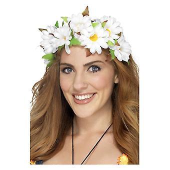 Akcesoria Kostiumy damskie Daisy kwiatowy pałąk