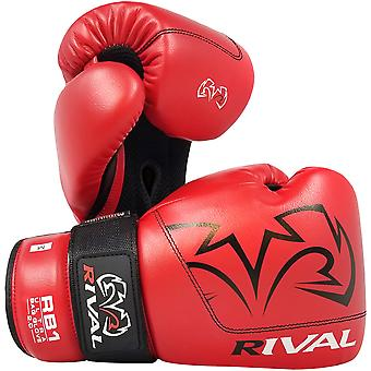 Rival Boxing RB1 2.0 Ultra Hook and Loop Bag Gloves - Red
