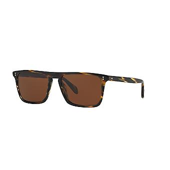 Oliver Peoples Bernardo OV5189S 1003/N9 Cocobolo/Crystal Polarised Brown Lunettes de soleil