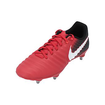 Nike TIEMPO LIGERA IV SG Men's Football Shoes Red Sports Shoes
