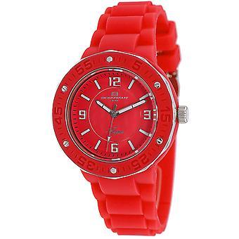 Oceanaut Women-apos;s Acqua Red Dial Watch - OC0225