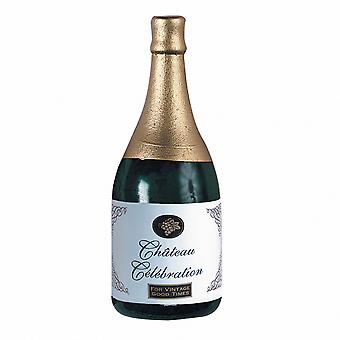 Amscan Novelty Balloon Weight - Champagne Foil Bottle