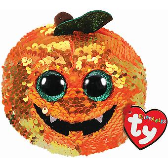 TY Flippables Beanie Boo - Seeds the Pumpkin 15 cm