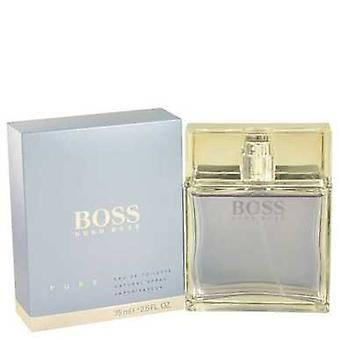 Boss Pure By Hugo Boss Eau De Toilette Spray 2.5 Oz (men) V728-456725
