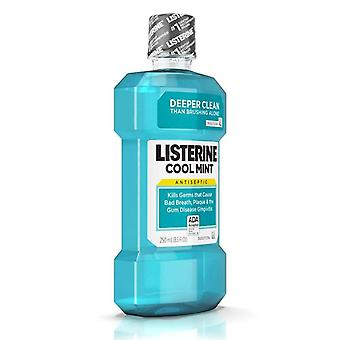 Listerine antiseptic mouthwash, cool mint, 8.5 oz