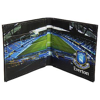 Everton FC Mens Official Football Stadium Leather Wallet