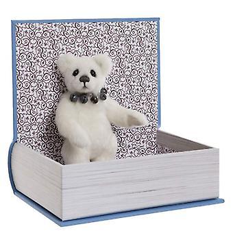 Charlie Bears Study Buddy avec livre 13 cm