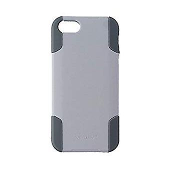 Ventev Protective Case with Holster Clip for Apple iPhone 5/5s/SE - White/Gray