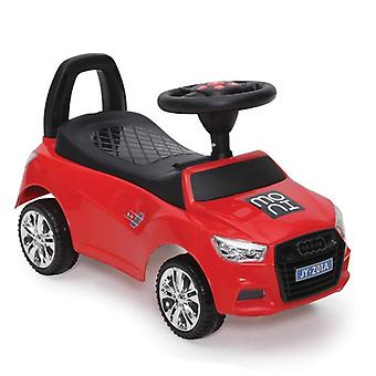Children's car, slider Go Ride A, storage compartment, horn, music function, backrest