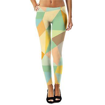 Grafiskt mönster (4) legging