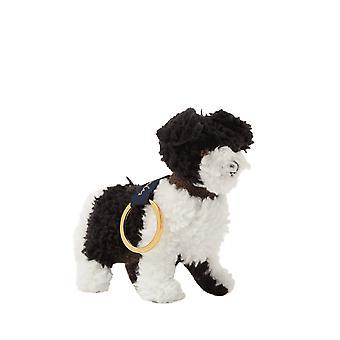 Joules Tweedle Tweed Dog Keyring