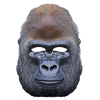 Gorilla Ape Animal Card Party Fancy Dress Mask