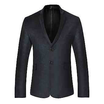 Allthemen Men's Solid Color Suit Jacket Velvet Formal Traditional Party Banquet Dress Suit Jacket