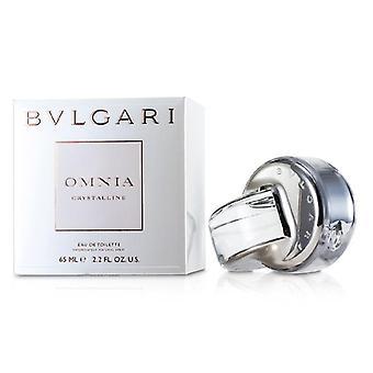 Bvlgari Omnia Crystalline Eau De Toilette Spray - 65ml/2.2oz