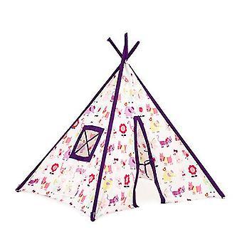 Söpö Lemmikit Design valtava lapset ' s pelata teltta Teepee Wigwam lasten sisä den talo