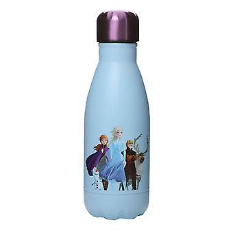 Frozen Water Bottle In My Element Elsa Movie new Official Sky Blue Metal