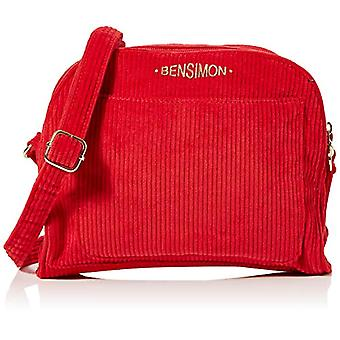 BensimonRound BagDonna]Red (Rouge)65x18x22 centimeters (W x H x L)