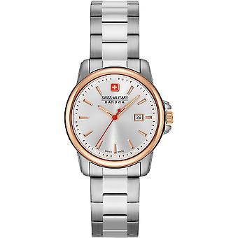 Sveitsin sotilaallinen Hanowa 06-7230.7.12.001 Sveitsin Recruit Lady II Watch