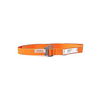 Heron Preston Hmrb007s2062003919c1 Men's Orange Fabric Belt