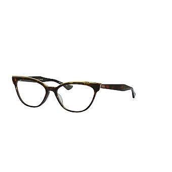 DITA Ficta DTX528 02 Dark Tortoise-Burnt Brown-White Gold Glasses
