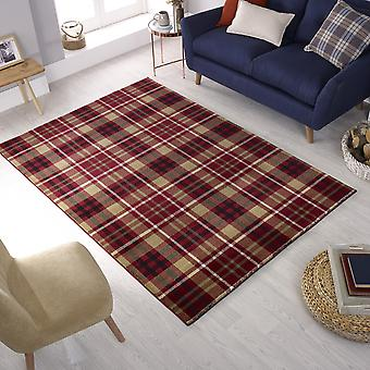 Cocktail Highland Rugs In Red