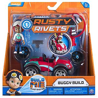 Rusty Rivets Ruby's Buggy Build Pack Nickelodeon Figure Set