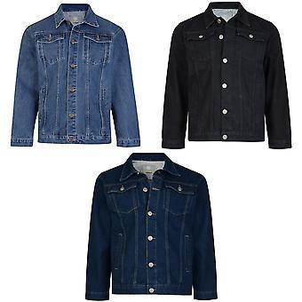 Kam Jeanswear Mens Western Denim Jacket