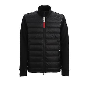 Moncler 8g5000080985999 Men's Black Nylon Down Jacket