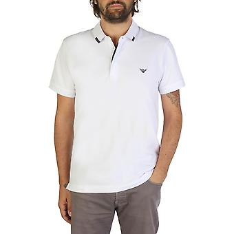 Emporio Armani Original Men Spring/Summer Polo - White Color 35520