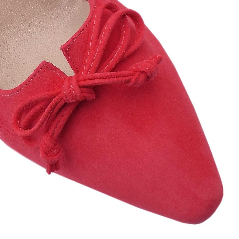 Peter Kaiser Mizzy Mid Heel Puntige Teen Hof schoenen in Sharon Pink - Gratis verzending j2VOL3