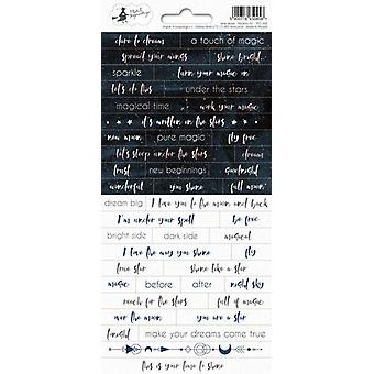 Piatek13 - Sticker sheet New moon 01 P13-360 10.5x23 cm