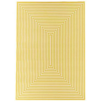 In - and outdoor carpet balcony / living room vitaminic braid yellow 160 x 230 cm