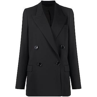 Acne Studios Ah0071900 Women's Black Cotton Blazer
