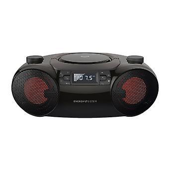 Radio CD Bluetooth MP3 Energy Sistem Boombox 6 12W Black