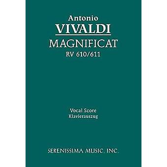 Magnificat RV 610611  Vocal score by Vivaldi & Antonio
