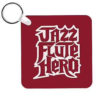 Anchorman Jazz Flute Hero Guitar Hero Keyring