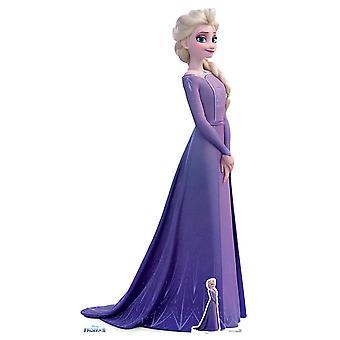Elsa Violet Dress de Frozen 2 Official Disney Cardboard Cutout / Standee