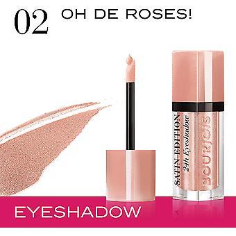 3 x Bourjois Paris Satin Edition 24H Eyeshadow - 02 Oh De Roses
