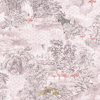 Kaléidoscope Mayang Fond d'écran Rose Holden 90662
